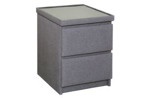 any fabric bedside table