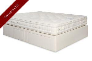 reinforced divan base, super strong mattress