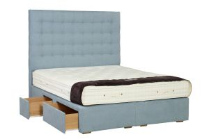 large and long beds with drawers